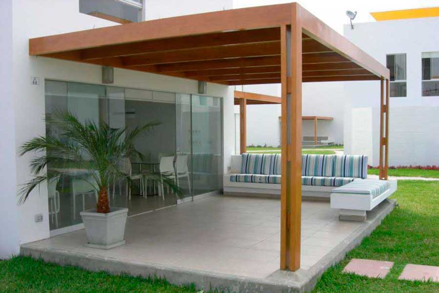 Naturalgreen obras civiles for Terrazas simples