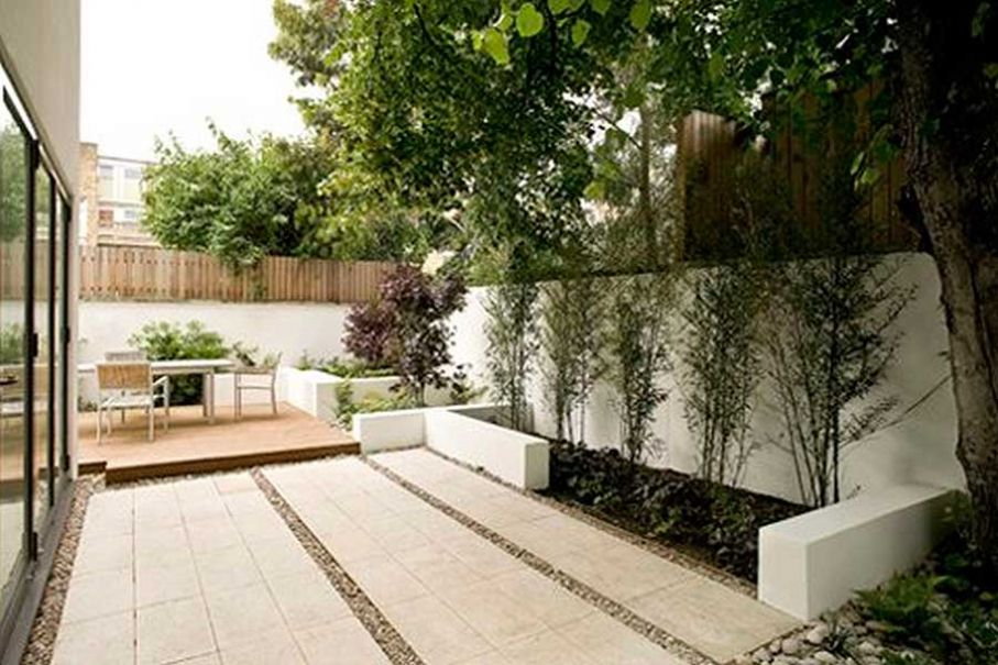 12 Terraza minimalista