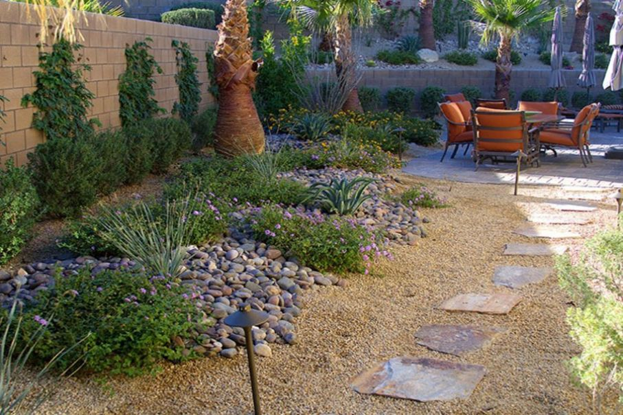 Imagen 47 Terraza con maicillo y palmeras