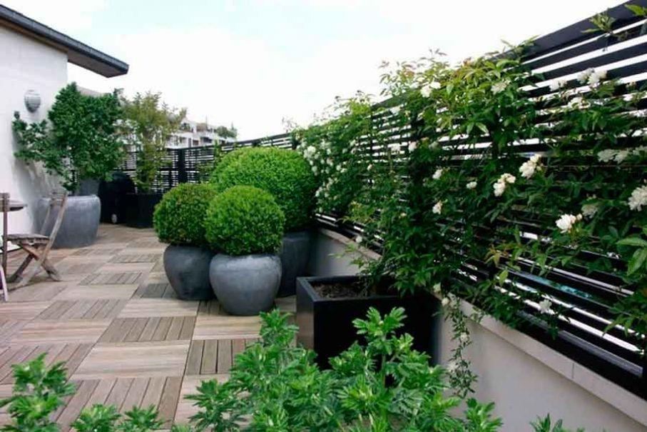 Naturalgreen 27 terraza con maceteros - Maceteros para terrazas ...